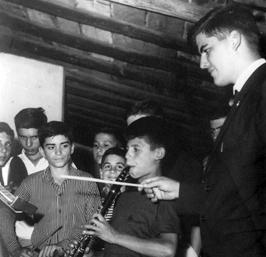 D. Vicente Esteban Fariña Fariña, fundador de la Banda de Música Amigos del Arte de San Andrés